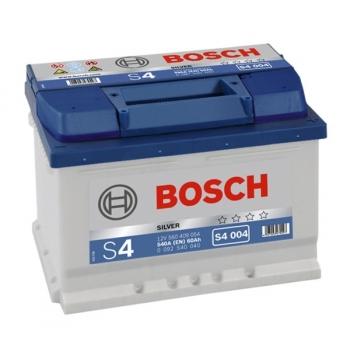 BOSCH S4 60 Ah 540 A 0 (- +) 242x175x175