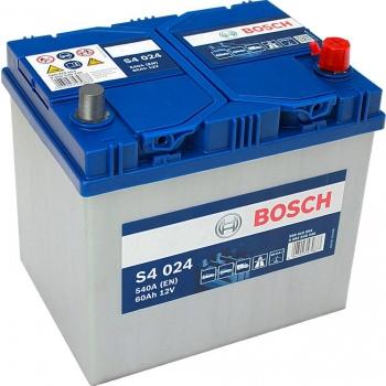 BOSCH S4 60 Ah 540 A 0 (- +) 232x173x225