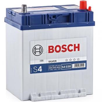 BOSCH S4 40 Ah 339 A 0 (- +) 187x127x227