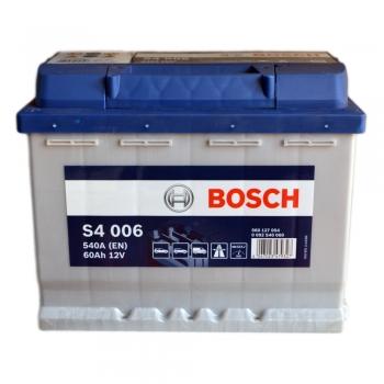 BOSCH S4 60 Ah 540 A 1 (+ -) 242x175x190