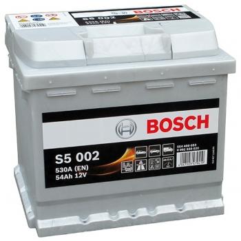 BOSCH S5 54 Ah 530 A 0 (- +) 207x175x190