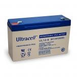 ULTRACELL 6v 12АH AGM VRLA 151x50x100