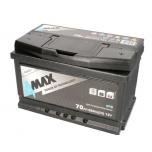 4MAX BAT70 12V 70Ah/650A START&STOP EFB  278x175x175 B13