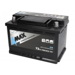 4MAX BAT72 12V 72Ah/720A START&STOP EFB  278x175x190 B13