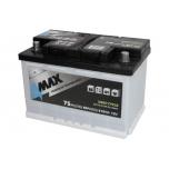 4MAX BAT75/700R 12V 75Ah  278x175x175 B13 -+