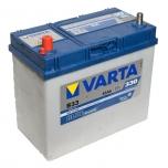 VARTA B33 45 Ah 330 A 1 (+ -) 238x129x227 тонкие клеммы