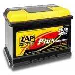 ZAP 555 59 Plus 55 Ah 460 A O(- +) 242x175x190