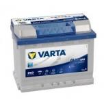 VARTA D53 60 Ah 560 A 0 (- +) 242x175x190