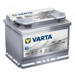 VARTA D52 60 Ah 680 A 0 (- +) 242x175x190