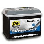 ZAP 564 45 Silver Premium 64 Ah 600 A O(- +) 242x175x175
