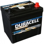 DURACELL Advanced 60Ah 510A 233x173x225 -+