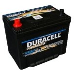 DURACELL Advanced 70Ah 600A 260x174x222 L +-