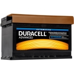 Duracell Advanced 77Ah 700A 278x175x190 -+