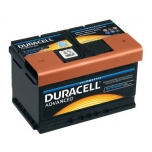DURACELL Advanced 80Ah 700A 315x175x175 -+
