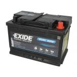 EXIDE EP600 70Ah/760A DUAL AGM 278x175x190 B13 -+