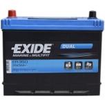 EXIDE ER350  12V 80Ah/510A DUAL 260x175x225 +-