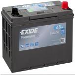 EXIDE EA456 PREMIUM 45Ah 390A (- +) 237x127x227