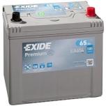 EXIDE EA654 PREMIUM 65Ah 580A (- +) 230x173x222