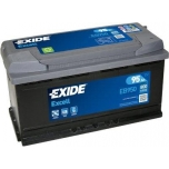 EXIDE EB950 EXCELL 95Ah 800A (- +) 353x175x190