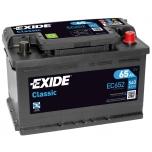 EXIDE EC652 CLASSIC 65Ah 540A (- +) 278x175x175