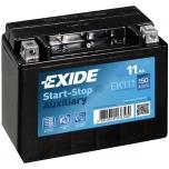 EXIDE EK111 AGM 11Ah 150A (+ -) 150x90x130