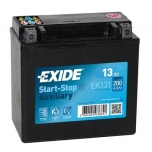 EXIDE EK131 AGM 13Ah 200A (+ -) 150x90x145