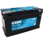 EXIDE EK950 AGM 95Ah 850A (- +) 353x175x190
