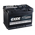 EXIDE EL700  ECM (EFB) 70Ah 630A (- +) 278x175x190