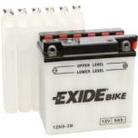 Exide 12N9-3B 12V 9Ah  135x75x139-+