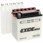 Exide YB10L-A2 12V 11Ah  135x90x145 -+