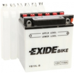 Exide YB10L-B 12V 11Ah  135x90x145-+