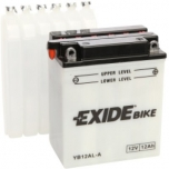 Exide YB12AL-A 12V 12Ah  135x81x161 -+