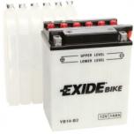 Exide YB14-B2 12V 14Ah YB14-B2 134x89x166+-