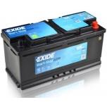 EXIDE EK1050 AGM 105Ah 950A (- +) 392x175x190