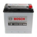 BOSCH S3 016 45 Ah 300 A 0 (- +) 219x135x225