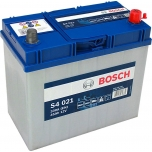 BOSCH S4 021 45 Ah 330 A 0 (- +) 238x129x227