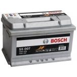 BOSCH S5 007 74 Ah 750 A 0 (- +) 278x175x175