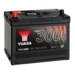 YUASA YBX3069 70Ah 570A SMF  1(+ -) 269x174x225