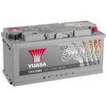 YUASA YBX5020 110Ah 900A Silver High Performance  0(- +) 393x175x190