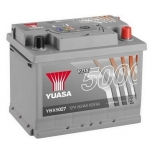YUASA YBX5027 62Ah 600A Silver High Performance  0(- +) 243x175x190