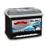 SZNAJDER 564 45 Silver Premium 64 Ah 600 A O(- +) 242x175x175